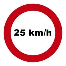 Mofadrossel 25 km/h für PIAGGIO TPH 50, TEC