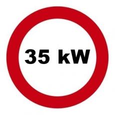 Drosselsatz 35 kW / 48 PS für Honda CBF600, PC38