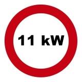 Drosselsatz 11 kW / 15 PS für Laverda 125, LZ1