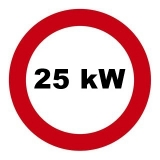 Drosselsatz 25 kW / 34 PS für Honda Bros400, NC25