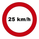 Mofadrossel 25 km/h für PEUGEOT Citystar E4 2T, H3 / AA / BC